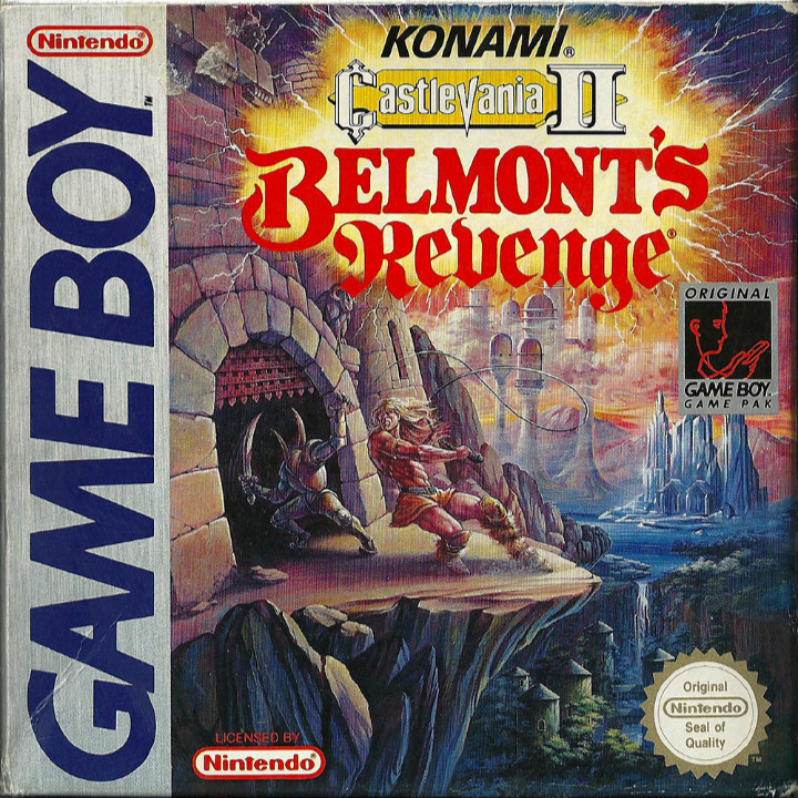 Box art for Castlevania II: Belmont's Revenge
