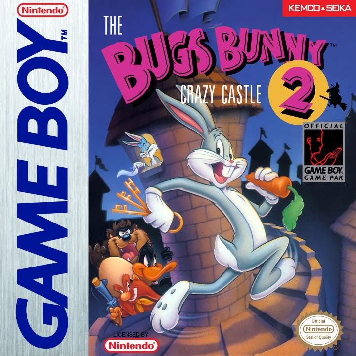 The Bugs Bunny Crazy Castle 2 box art