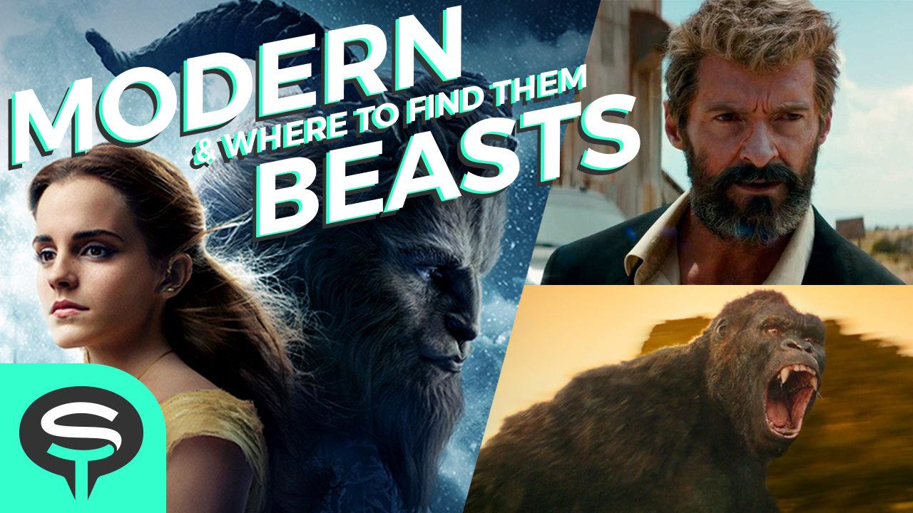 A mashup of Beauty and the Beast, Logan, and Kong: Skull Island